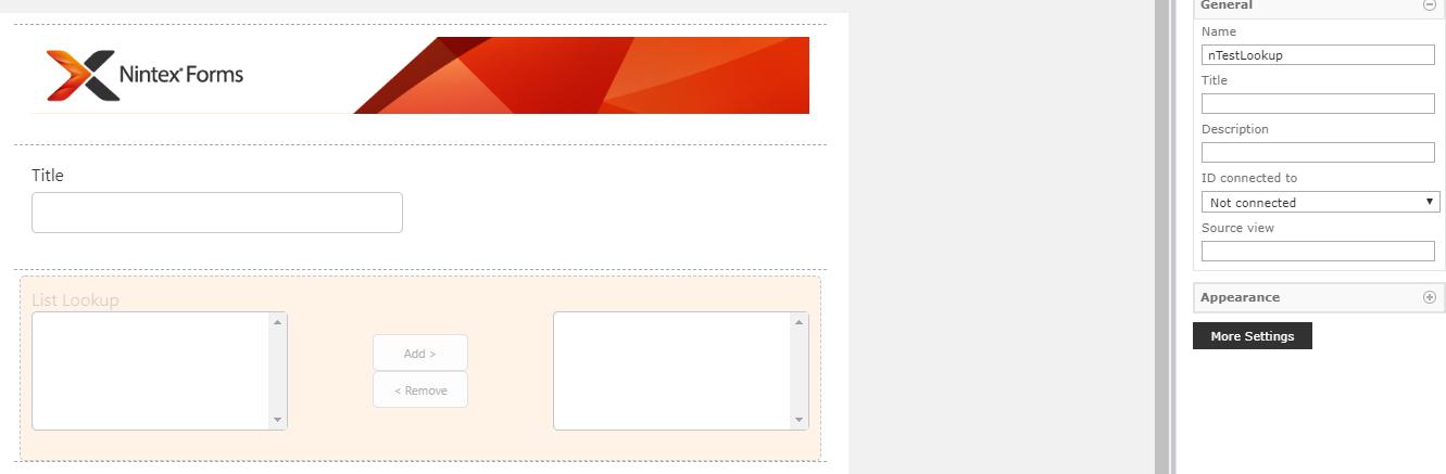 Nintex Office 365 Form