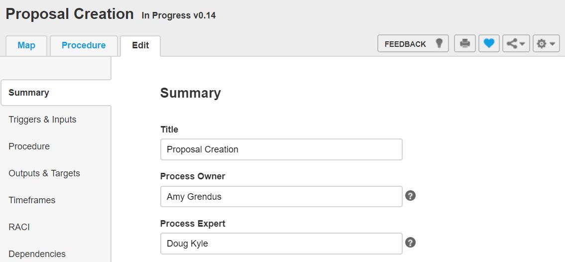 Nintex Promapp Process Owner