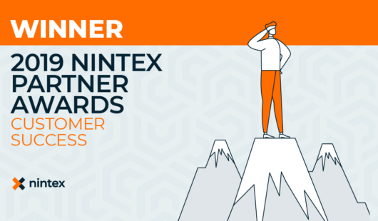 Nintex 2019 Partner Awards Winner